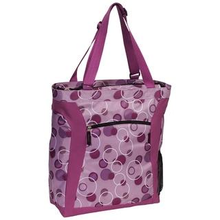 Everest Purple Bubbles 15-inch Laptop Tote Bag