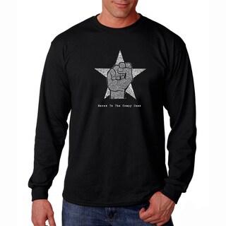 Men's Los Angeles Pop Art Steve Jobs Long Sleeve T-Shirt