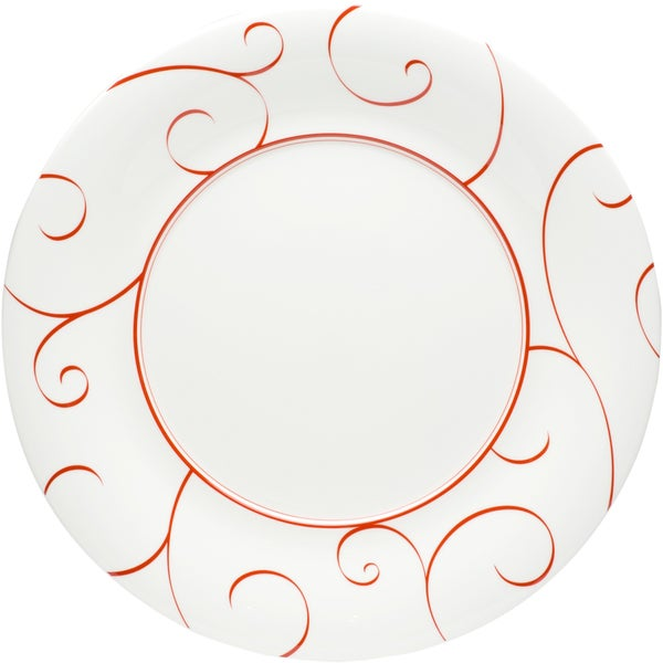 Panache Rouge 12-inch Round Platter (Set of 2)