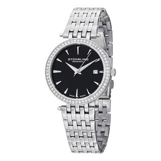 Stuhrling Original Women's Garland Swiss Quartz Stainless Steel Bracelet Watch