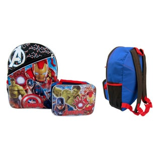 Avengers: Age of Ultron Backpack/ Lunch Bag Combo