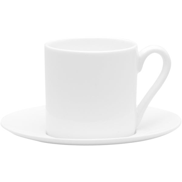 Pure Vanilla 5-ounce Espressso Cup/ Saucer (Set of 4) 16032265