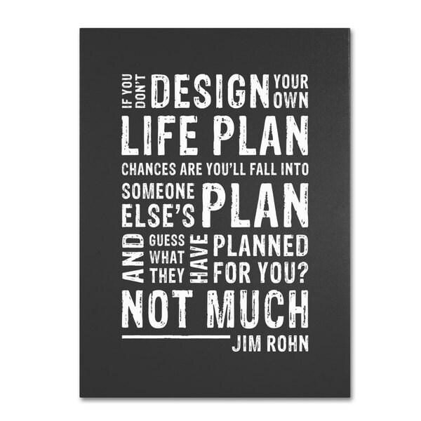 Megan Romo 'Design Your Own Life' Canvas Art