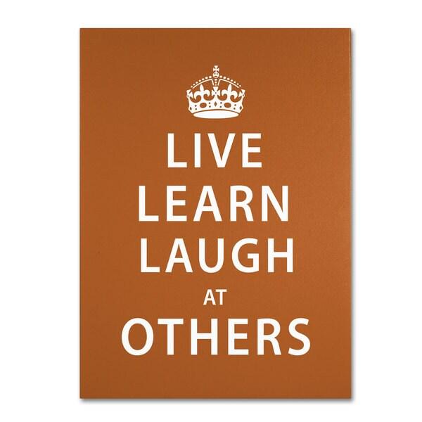 Megan Romo 'Laugh at Others II' Canvas Art