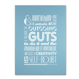 Megan Romo 'Outgoing Guts I' Canvas Art