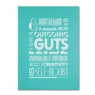Megan Romo 'Outgoing Guts III' Canvas Art
