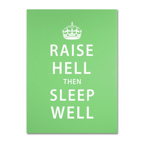 Megan Romo 'Raise Hell' Canvas Art