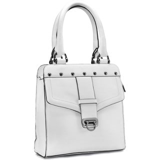 Phive Rivers White Leather Handbag (Italy)