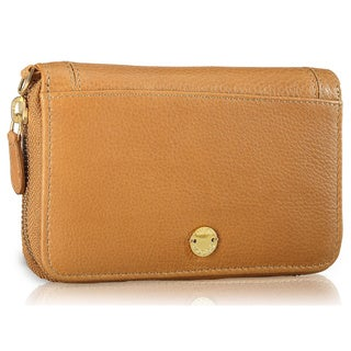 Phive Rivers Tan Leather Wallet (Italy)