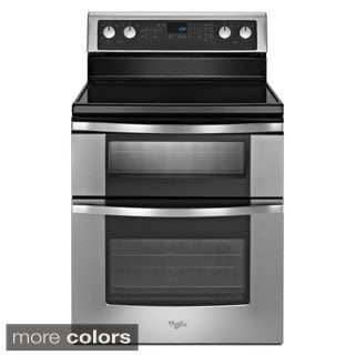 Whirlpool 30-inch Freestanding Electric Double Oven with Convection