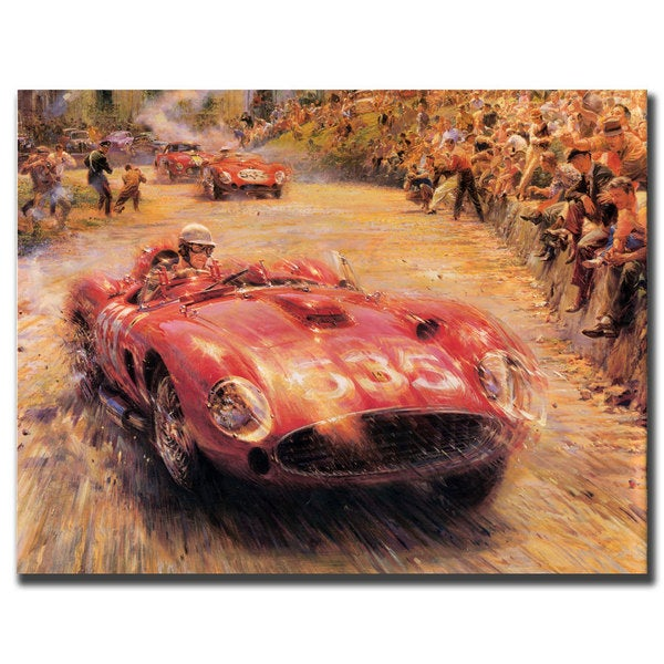 '5635 Racer' Canvas Art