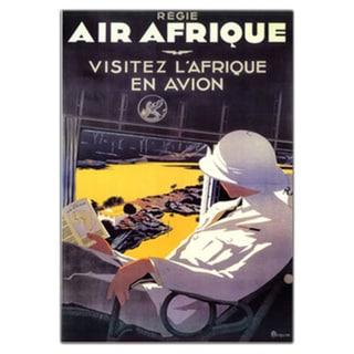 'Air Afrique' Canvas Art