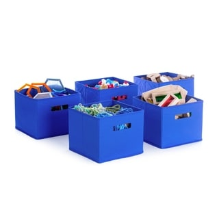 Blue Storage Bins (Set of 5)