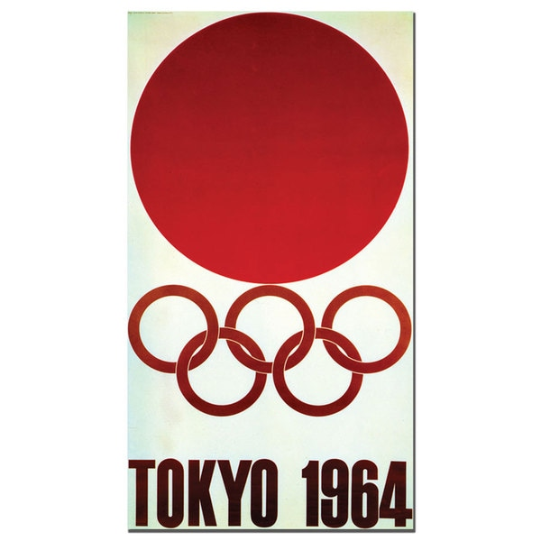 'Olympic Games Tokyo 1964' Canvas Art
