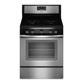 Whirlpool 30inch Freestanding Gas Range with 5 Sealed Burners and Convection Oven