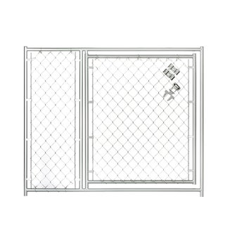Lucky Dog 4'x5' Chain Link Modular Gate