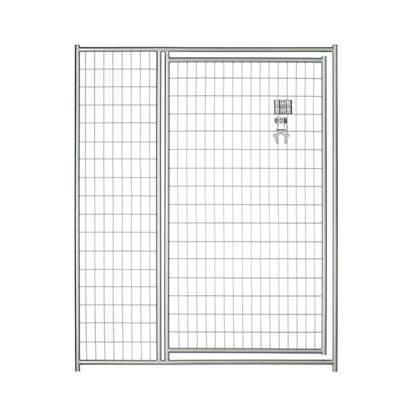 Lucky Dog 6'x5' Silver Welded Wire Modular Gate
