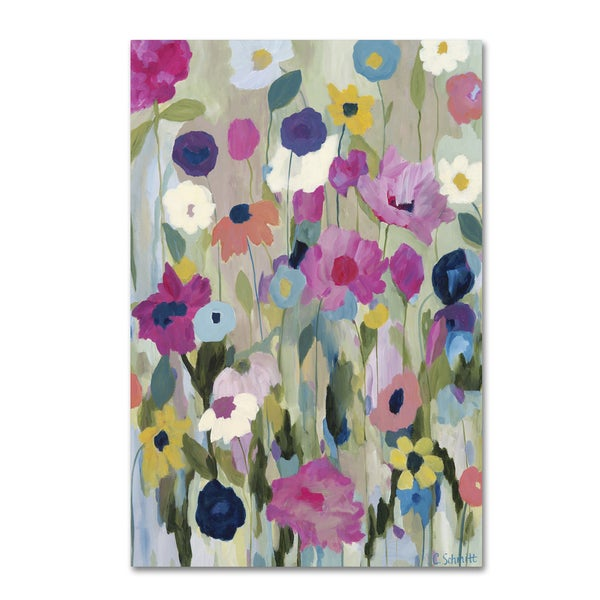 Carrie Schmitt 'Too Pretty To Pick' Canvas Art