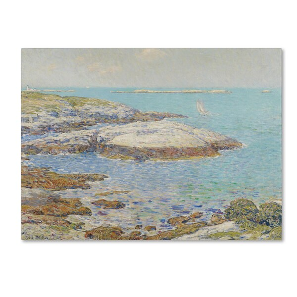 Childe Hassam 'Isles of Shoals 1899' Canvas Art