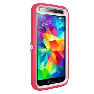 Otterbox Defender Series for Samsung Galaxy S5 - Pink/White