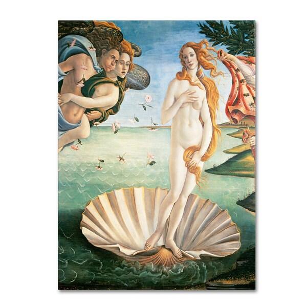 Sandro Botticelli 'Birth of Venus 1484' Canvas Art