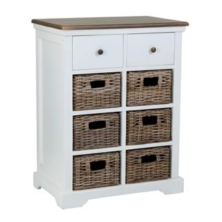 Alamosa Traditional White Cabinet