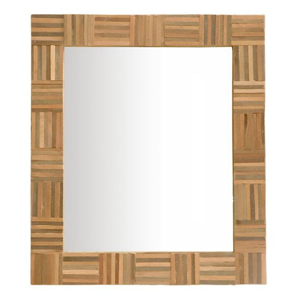 Cornelius Rectangular Wood Mirror