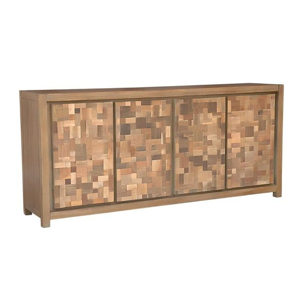 Edgewater Geometric Natural Sideboard