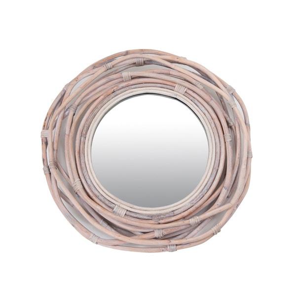 Hubbard Decorative Round Accent Mirror