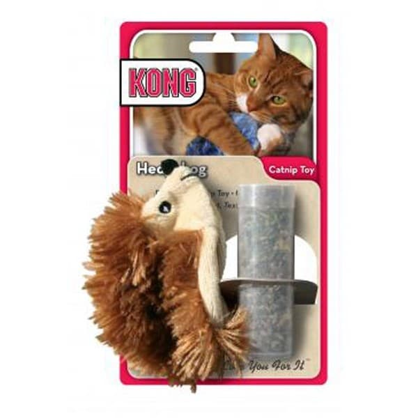 Kong Refillable Catnip Hedgehog Cat Toy 16035500