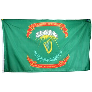 3x5 Super Polyester 69th Regiment Irish Brigade Flag indoor Outdoor
