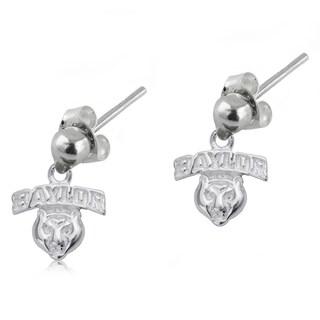 Baylor Sterling Silver Post Dangle Earrings