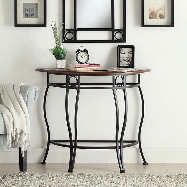 Ava Half Moon Console Table