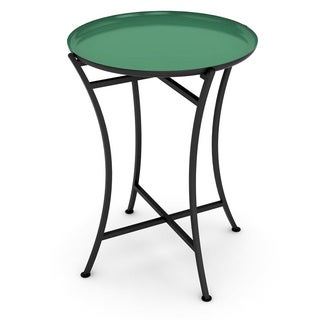 dar Enamel Tray Side Table