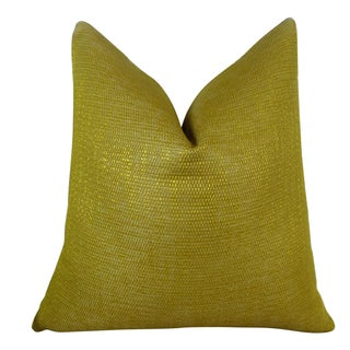 Plutus Lemon Curry Handmade Double Sided Throw Pillow