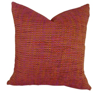 Plutus Intermix Amethyst Handmade Double Sided Throw Pillow