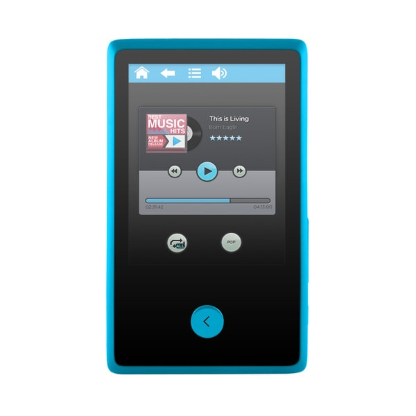 Ematic 8GB 2.4-inch Touch Screen MP3 Video Player with Bluetooth