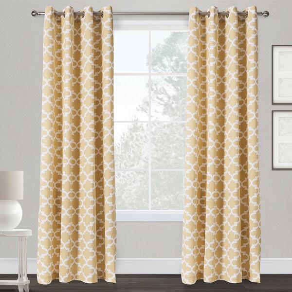Neptune Grommet Top Curtain Panel Pair