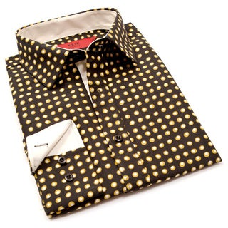 Elie Balleh Milano Italy Boys' Circle Slim Fit Shirt