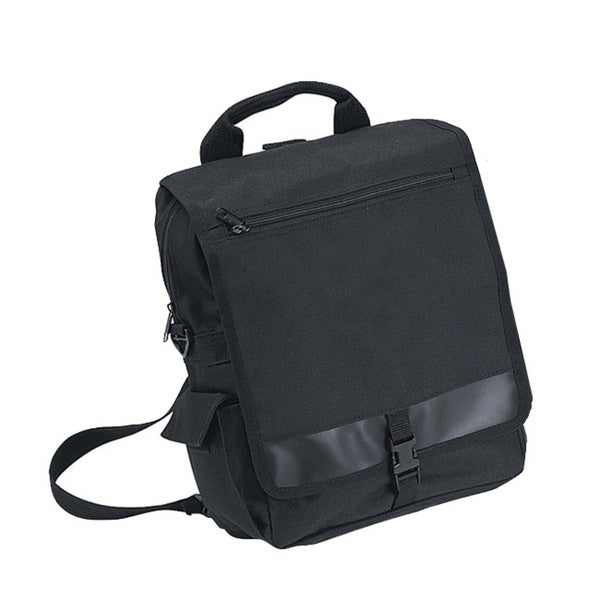 Goodhope Black Flapover Travel Tote Bag