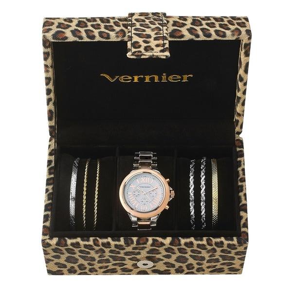 Vernier Watch & Jewelry Box Set
