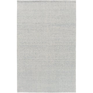 Hand-Knotted Swanage Solid Indoor Rug (8' x 10')