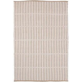 Hand-Woven Kington Stripe Jute Rug (8' x 10')