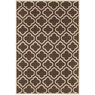 Hand-Woven Horwich Moroccan Trellis Cotton Rug (8' x 10')