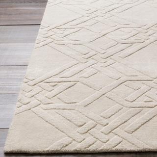 Florence Broadhurst : Hand-Loomed Lydd Geometric Wool Rug (9' x 13')