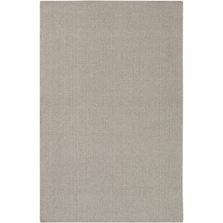 Hand-Woven Wooler Solid Polypropylene Rug (2'3 x 4'5)