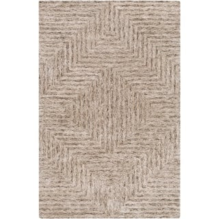 Hand-Tufted Woburn Geometric Indoor Rug (2' x 3')