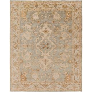 Hand-Tufted Malvern Medallion Indoor Wool Rug (8' x 10')