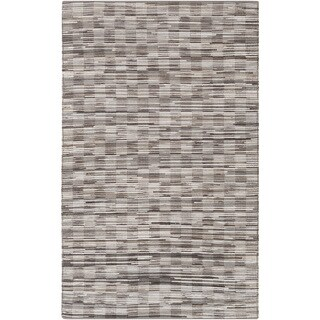 Hand-Woven Raunds Distressed Hair On Hide Rug (8' x 10')