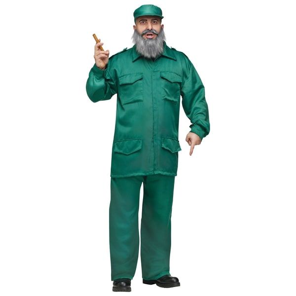 Green Suit Dictator Costume
